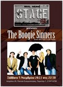 "THE BOOGIE SINNERS LIVE AT ""STAGE 25"""
