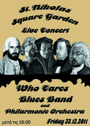 Who Cares Blues Band LIVE at St.Nicolas Square Garden!