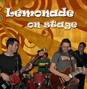 Lemonade on stage, live at Babi's Jazz Cafe