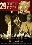 George and the Dukes 29/11 Live @ Stage 25