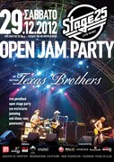 Open Jam Party hosted by Texas Brothers@Stage25