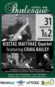 Kostas Maginas Quartet featuring Craig Bailey