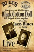 GRIGORIOS NTANIS & BLACK COTTON DOLL DUET live at ' B L U E S '