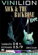 NICK DOUNOUSSIS AND THE BACKBONE LIVE @ VINILION