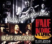 Daddy's Work Blues Band   &    Blues Trackers Power Trio  Live @ Half Note Jazz Club