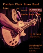 Daddy's Work Blues Band & Mr. Highway Band ... Jam Night  @ Limbo Rock Club