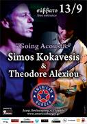 Going Acoustic, Simos Kokavesis & Theodore Alexiou @ American Burger