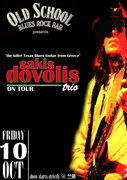 "Sakis Dovolis ""Trio"" live @ Old School Blues-Rock Bar (Kozani GR)"