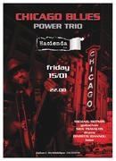 Michael Dotson Chicago blues power triο live
