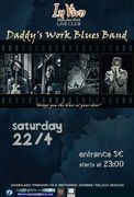 Daddy's Work Blues Band live at In Vivo Blues Live club