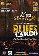 Blues Cargo live at Orfeas Bar Cafe Restaurant opening act unHealthy Blues