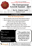 THE ENTREPRENEUR GROWTH SUMMIT