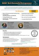 'BASE : Be A Successful Entrepreneur' Workshop on 7th Oct'17 - by NIVA Growth Consultants
