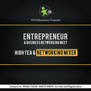 Entrepreneur & Startup Meet & Mixture