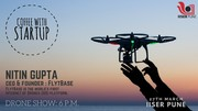 Coffee with a startup-Internet of Drones