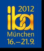 IBA 2012 Munich: Feria Internacional de Panadería y Pastelería