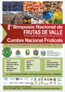 2do Simposio Nacional Fruticola integrado a la 1ra Cumbre Nacional de Frutas de Valle Bolivia 2015