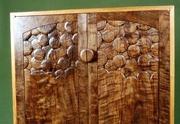 Bubbles wine cabinet detail
