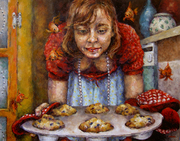 Lauren Serves Up Her Muffins