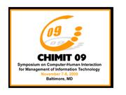 ACM CHIMIT 2009