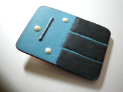 Black and Blue Belt Buckle