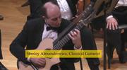 Stanley Alexandrowicz—Classical Guitarist Performs 19th Century Romantic Virtuoso Guitar Composers & Contemporary American Masters