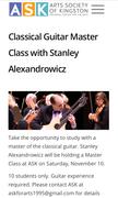 Guitar Master Class—Arts Society of Kingston