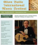 Summer Classical Guitar Study — Alion Baltic International Music Festival in Beautiful and Historic Tallinn, Estonia!