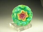 Pin, Green Flower