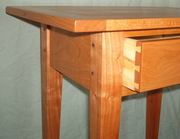Cherry Table Detail