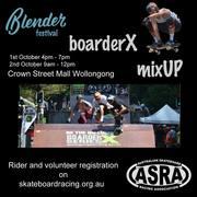 BoarderX Mix Up at Blender Festival