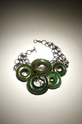 Green Orchis Necklace