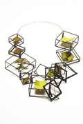 Modern Origami Necklace