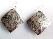 zentangle earrings
