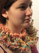 Colorful Rubber band collar
