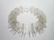 Mylar Slice Necklace