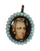 Andrew Jackson Mourning Pendant