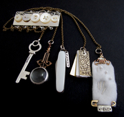 Chatelaine Brooch