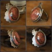 Dark Rose ring (ring a week 5/52)