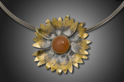 Indian Fire Wheel pin/pendant