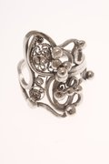 Sterling Silver/Fine Silver Filigree Ring
