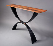 Rosewood Console Table - Three Quarter View