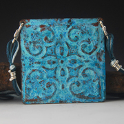 tin tile blue b 2