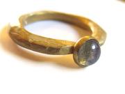 Labradorite organic ring