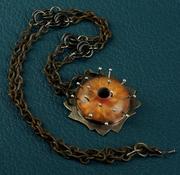 My Plastic Golden Universe Necklace