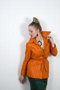 Clusters with Orange coat