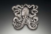 Octopus brooch