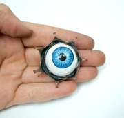 Evil Eye Brooch