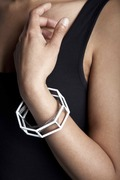 Structure series bangle