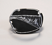 Steel wire Brooch